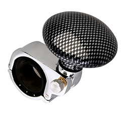Steering Wheel Aid - Spinner Knob (Checker Patterned)