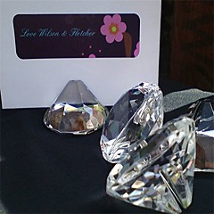 Kristal Plaats Card houders Cadeauverpakking