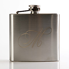 cheap Groomsmen Gifts-Personalized Stainless Steel Barware & Flasks Hip Flasks Groom Groomsman Wedding Anniversary Birthday