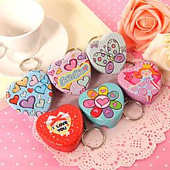 latas de menta de coração - conjunto de 12 (2 de cada estilo) estilo feminino clássico