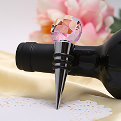 "Kristalli Kromi Bottle Favor Bottle Stoppers Puutarha-teema Hopea 3 1/2"" x 1"" x 3/4"" (8,9*2,5*1,9cm)"