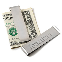 cheap Groom Gifts-Stainless Steel Money Clips Groom Groomsman Wedding Anniversary Birthday