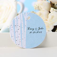 billige Klistremerker og etiketter-personlig favorithjelp - hvitt tre (sett med 36) bryllup favoriserer