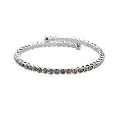 cheap Bracelets-Women's Rhinestone Charm Alloy Jewelry Party Anniversary Birthday Daily Costume Jewelry Silver