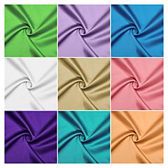 100% polyester sateng stoff ved verftet (mange farger)