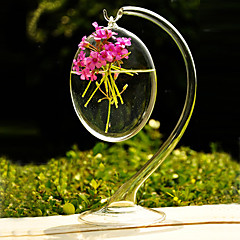 cheap -Table Centerpieces Hanging Clear Glass Vase  Table Deocrations