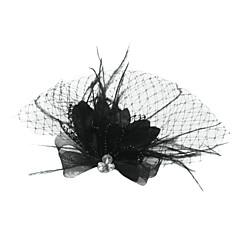 Γυναικείο Φτερό Τούλι Headpiece-Ειδική Περίσταση Βέλα κλουβιού πουλιών