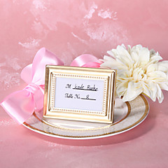 cheap Frames & Albums-Zinc Alloy Place Card Holders Frame Style Gift Box