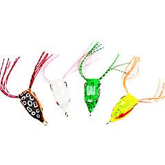 billiga Fiskbeten och flugor-1 st Mjukt bete Fiskbete Groda Mjukt bete Mjuk plast Sjöfiske Färskvatten Fiske