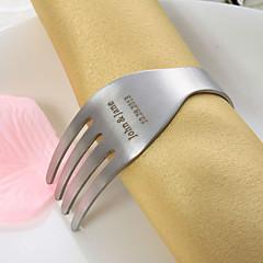 Aço Inoxidável Guardanapos de casamento Piece / Set anéis de guardanapo