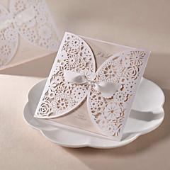 Personalized Hollow Design Wedding Invitation (Set of 50)