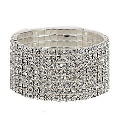 テニスブレスレット 模造ダイヤモンド ユニーク ファッション ジュエリー ジュエリー 1個