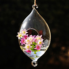 cheap -Table Centerpieces Hanging Olivary Glass Vase  Table Deocrations