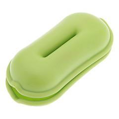 tanie Organizery kabli-Qirtie Zielona Peanut Style Słuchawki Kabel Winder Przewód Twister dla iPod MP3 MP4