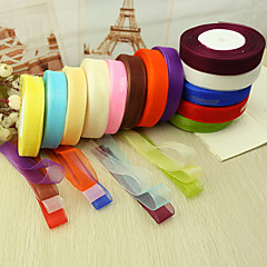 Solid Color Organza Ribbon--(More Colors) Wedding Reception Beautiful