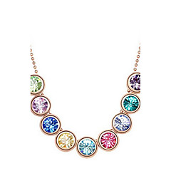 Delicate Alloy With Rhinestone Naisten kaulakoru (More Colors)