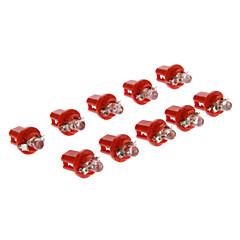 hesapli -Araba Kırmızı 6000 Gösterge Işıkları Plaka Aydınlatma Lambası Sinyal Lambası Fren Işığı