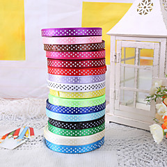 "3/8"" Polka Dot Ribbon Gift Package Decoration (More Colors)"