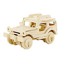 3D Jeep Shape puslespil