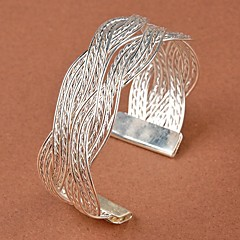 Women's Fashion Stylish Twist Weaving Bangle Bracelet Gifts