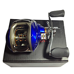 DW1000 Professional Blue Color Fishing Baitcasting Reel Right Hand