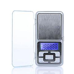 tanie Wagi-Wysoka dokładność Mini Elektroniczny Cyfrowy Biżuteria kieszonkowy Skala ważenia Wagi przenośne 200g/0.01g