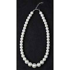 1PC Классический белый Жемчужное ожерелье