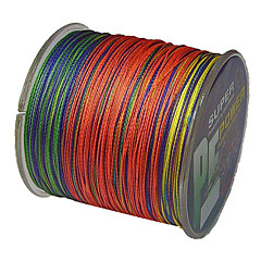 cheap Fishing Lines-500M / 550 Yards PE Braided Line / Dyneema / Superline Fishing Line 40LB 35LB 30LB 22LB 0.2;0.23;0.26;0.28 mm 147 Sea Fishing Freshwater