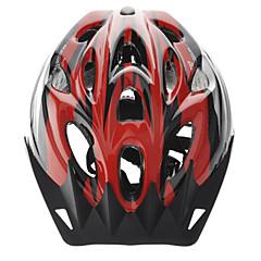 baratos Capacetes de Ciclismo-CoolChange Capacete de bicicleta 18 Aberturas meia cuia EPS, PC Ciclismo / Moto / Bicicleta De Montanha / BTT Prata / Vermelho / Azul
