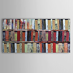 Hånd-malede Abstrakt Et Panel Kanvas Hang-Painted Oliemaleri For Hjem Dekoration