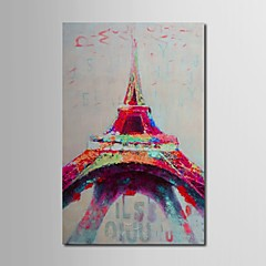 iarts®oil festészet absztrakt Eiffel-torony feszített keret kézzel festett vászon