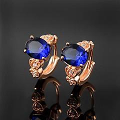 levne Náušnice-Dámské Unisex Kubický zirkon Mosaz Nepravidelný Šperky Kostýmní šperky