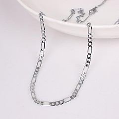 Men's Chain Necklace Chain Necklace , Unique Design Fashion Wedding Party Gift Daily Casual Sports