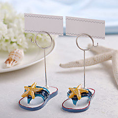 Chrome Resin Place Card Holders 2 Standing Style Gift Box Wedding Reception