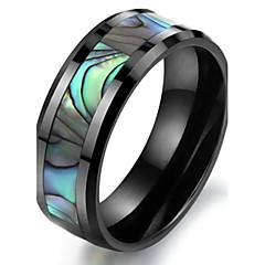 טבעות רצועה עיצוב מיוחד אופנתי קרמי Cowry תכשיטים תכשיטים ל חתונה Party יומי קזו'אל ספורט 1pc