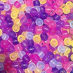 halpa -baoguang®8 * 6mm värimuutos helmiä sateenkaaren värit kangaspuut (20kpl)