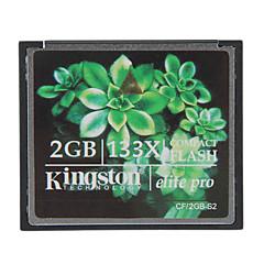 baratos Cartões de Memória-kingston 2gb cartão de elite pro 133x memória compact flash cf