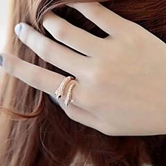 Lureme®Punk Exaggerated Snake Shape Ring