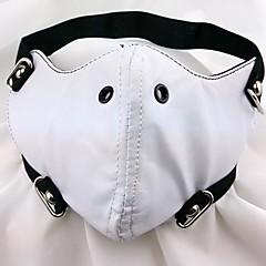 Maska Inspirovaný Tokyo Ghoul Cosplay Anime Cosplay Doplňky Maska Biały PU kůže Pánský
