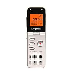 Χαμηλού Κόστους Συσκευές Ψηφιακής Εγγραφής Φωνής-megafeis 8gb 50 υπεραστικές επαγγελματική ψηφιακή συσκευή εγγραφής φωνής / pcm mp3 / dsp / ώρας / ένα κλειδί εγγραφής