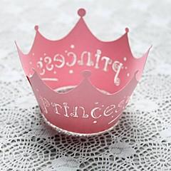 preiswerte Gastgeschenk Boxen & Verpackungen-Geburtstag Babyparty Party-Geschirr - Kuchen Accessoires Perlenpapier Blumen