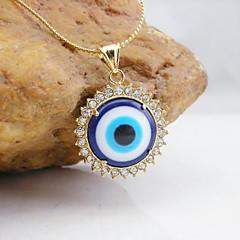 preiswerte Anhänger-Damen Anhänger Böser Blick vergoldet Diamantimitate Modisch Schmuck Für Alltag