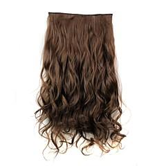 levne Syntetické příčesky-Prodlužování vlasů Klasický Na připnutí Denní Vysoká kvalita Příčesky z pravých vlasů
