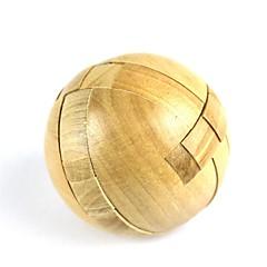 puzzle Toy za dárky Stavební bloky Dřevo Zlatá Hračky
