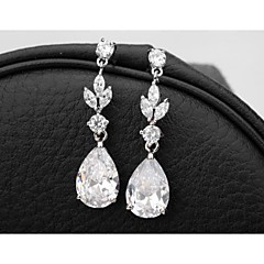 cheap Earrings-Women's Cubic Zirconia Drop Earrings - Drops For