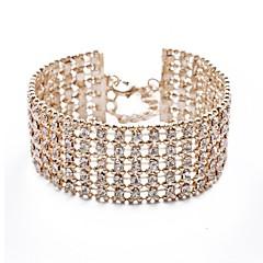 Ladies'/Women/Women's Cubic Zirconia Fashion With Cubic Zirconia Bracelet