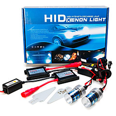 cheap Car Headlights-2pcs H7 Car Light Bulbs 55W 3200lm HID Xenon Headlamp For GreatWall / BMW / Ford