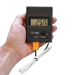 """tanie Pomiar temperatury-Przenośny 2 """"ekran LCD Termometr cyfrowy miernik -50 ° thermodetector c-1300 ° C (1 x bateria 9V)"""