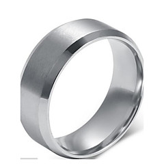 Classic Ring Men's Rings Sterling Silver Band Ring (1 Pc) Jewelry Christmas Gifts