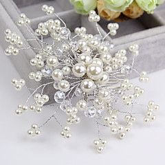 cheap Hair Jewelry-Crystal Imitation Pearl Hair Combs Flowers 1 Wedding Special Occasion Casual Headpiece